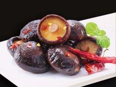 黑膳鸭特色卤味—香菇